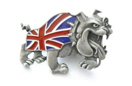 Jack the Bulldog Buckle