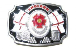 England Patriotic Buckle