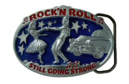 Rock 'n Roll Belt Buckle