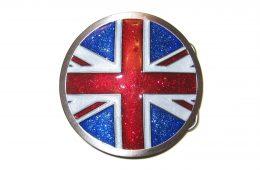 Round Glitter Union Jack