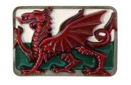 Large Dragon Welsh Buckle