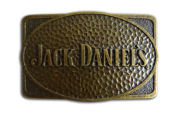 Jack Daniel's Oblong Bronze Buckle