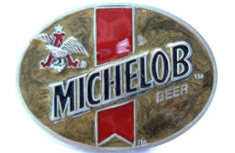 Michelob Gold Buckle