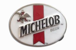 Michelob White Buckle