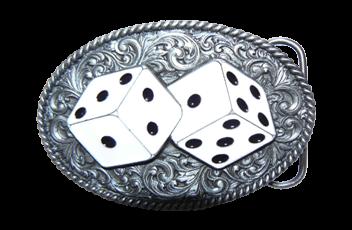 Gambling Belt Buckles
